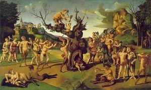 La scoperta del miele  di Piero di Cosimo